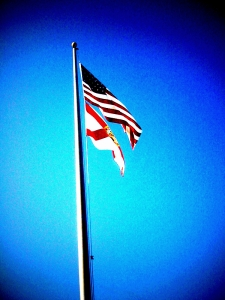 Flag's at Ransom Middle School (iphone)