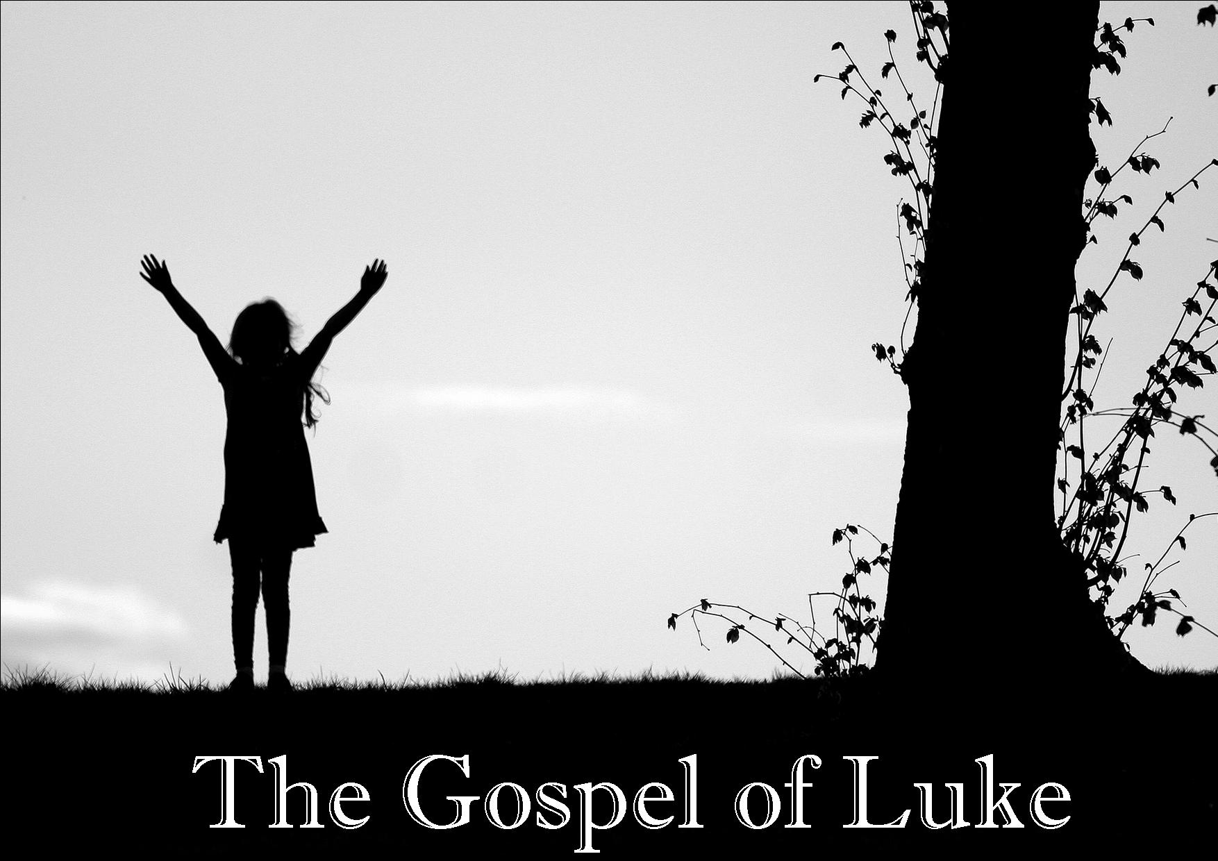 gospel of luke The gospel according to st luke 1:1 forasmuch as many have taken in hand to  draw up a narrative concerning those matters which have been fulfilled among.